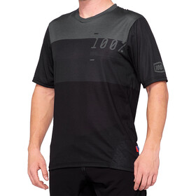 100% Airmatic Enduro/Trail Maillot Hombre, charcoal black